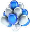 Party balloons birthday decoration multicolor. Dreams abstract