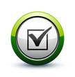 icône validation