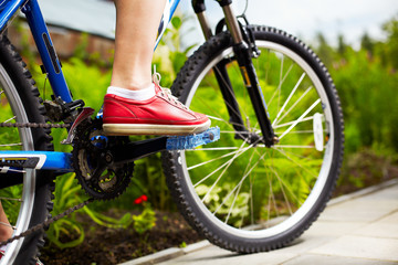view of a mountainbike
