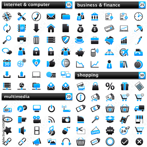 pack Icons I blue