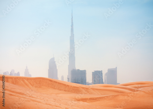 desert and Dubai