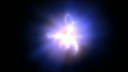 blue nebula and whirl laser,lightning,magnetic field,energy