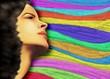 Ritratto Ragazza Sensuale a Colori-Sensual Girl's Portrait