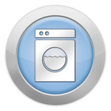 "Light Colored Icon ""Laundromat"""