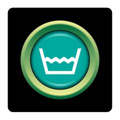 Internet, bouton, logo, picto, lavage, lessive, lave-linge
