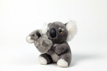 Cute Koala Toy with cub