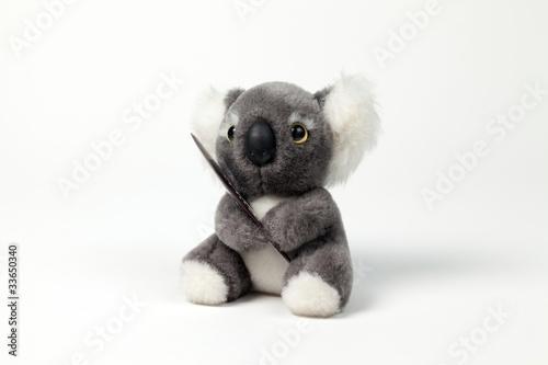 Cute Koala Toy Poster