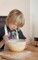 Baking cakes for mummy