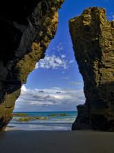 Playas de las catedrales, Ribadeo, Galicia