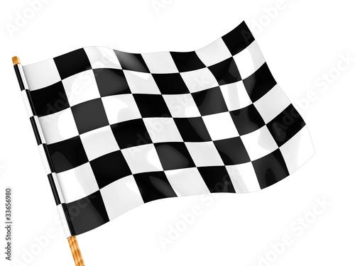 checkers flag - 33656980