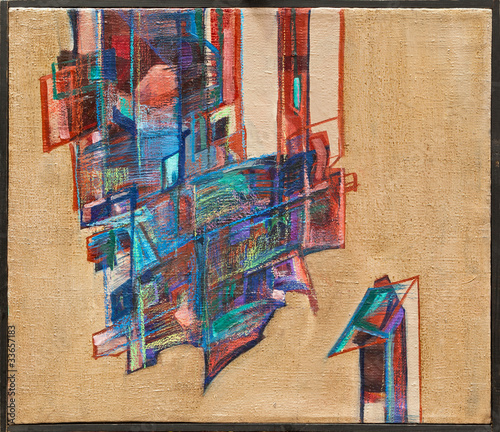 Abstract oil painting 04 © arsdigital