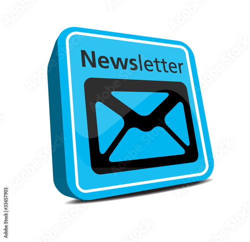 3d Newsletter Icon