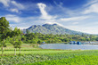 Leinwanddruck Bild - Batur volcano