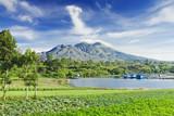 Fototapety Batur volcano