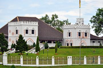 The Astana palace in Kuching, Sarawak, Borneo.