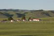 草原上的红房子