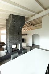casa moderna, sala da pranzo
