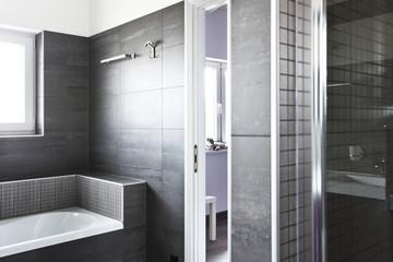 dettaglio di bagno moderno