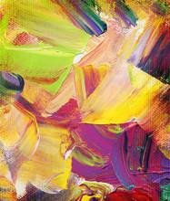 kleur textures op canvas