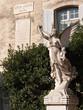 Angel statue memorial, Philippe de Girard, engineer - Lourmarin