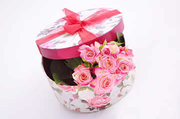Rosen in Geschenkbox