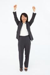 Portrait of business woman in suit