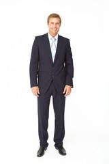 Portrait of business man in suit