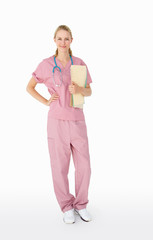 Portrait of medical professional