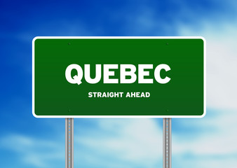 Quebec Highway  Sign