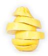 Zerschnittene Zitrone