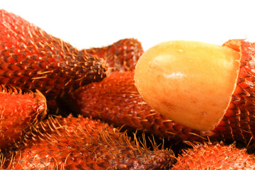 Salacca.Sour and sweet fruit