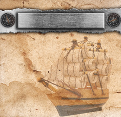 Nautical ancient background