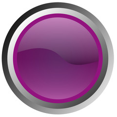 Bubble Button violett