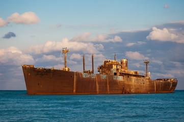E.Evangelia ship wreck