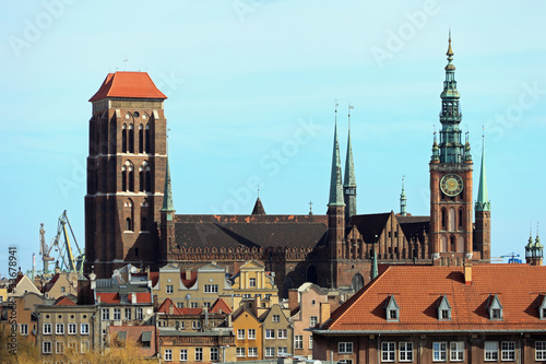 Basilica of St. Mary's in Gdansk, Poland. © Nightman1965
