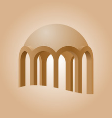 Islamic logo element