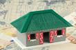 concept construction villa créole, plan de masse, financement
