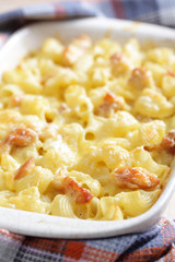 Mac cheese with chicken