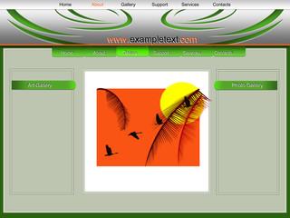 tribal web template