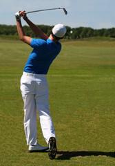 golf coup d'approche