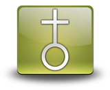 "Yellow 3D Effect Icon ""Church"""