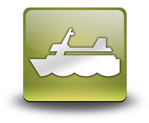 "Yellow 3D Effect Icon ""Cruise Liner"""