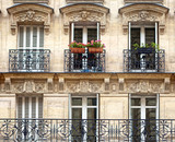 Balconies - Parisian Architecture