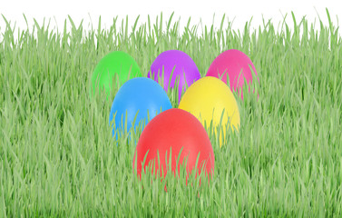 Easter eggs in triangle
