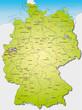 Deutschland  40cmx55cm