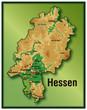 Hesse mit Höhenschichten als Vektoren