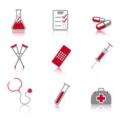 Iconset Medizin