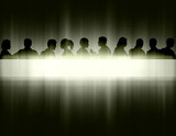 Light stripe people
