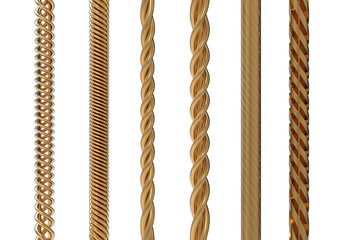 Gold cable