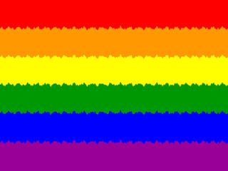Bandeira multicolor do orgulho